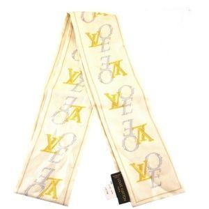 Bandeau Monogram Lv Logo Lvoe Love Scarf/Wrap